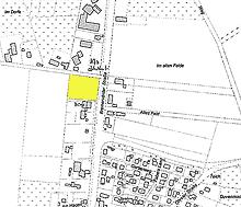 Grundstücks-Lageplan